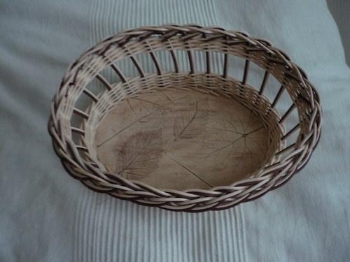 Košík s keramickým dnem