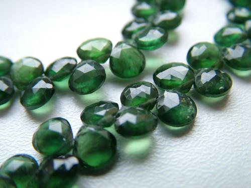 Zelený apatit broušený- mini -  5-6mm