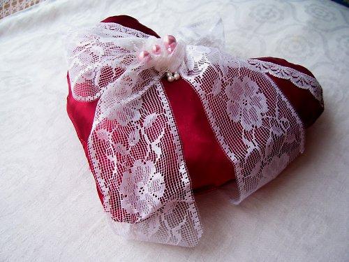 voňavé srdíčko k valentýnovi i do prádelníku