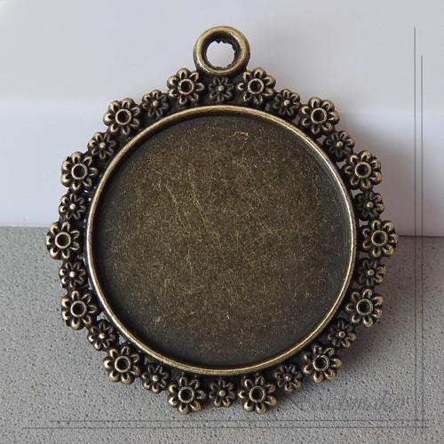Lůžko bronzové, 25 mm - 1 kus