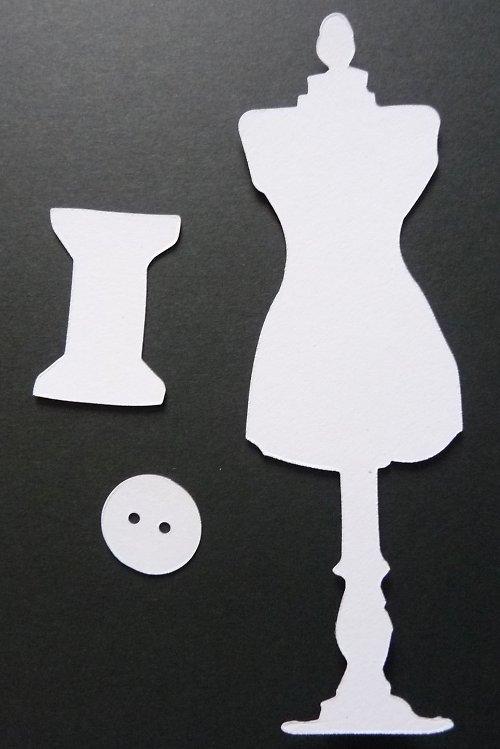 Výseky - šicí panna