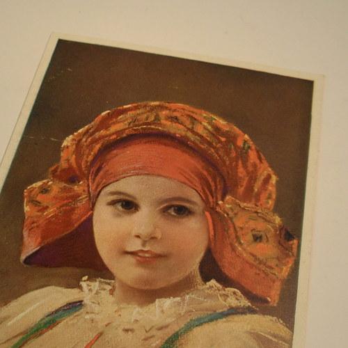 Muttich NAŠE DĚTI - pohlednice č. 1149