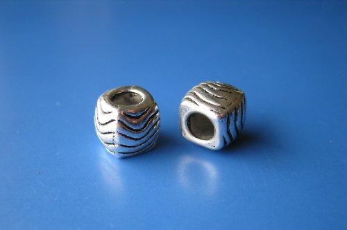 Komponent oblá kostka-vlnky, cena za 2ks
