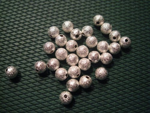 Korálek kovový, průměr 6 mm, cena je za 10 Ks