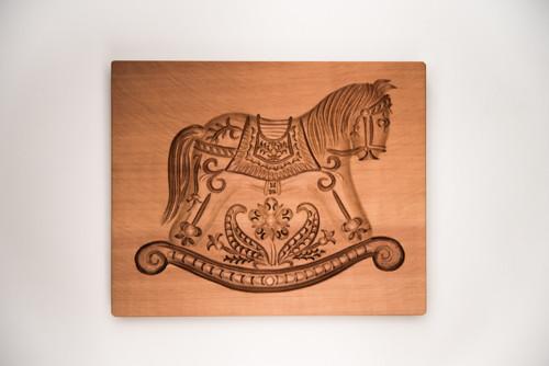 forma koník houpací 15 x 11 cm