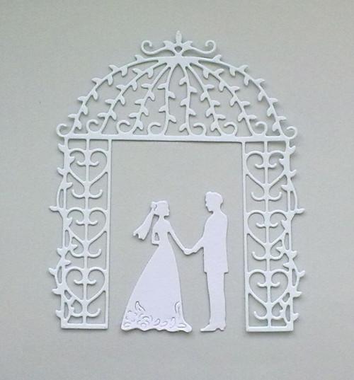 Výsek - Brána s ženichem a nevěstou