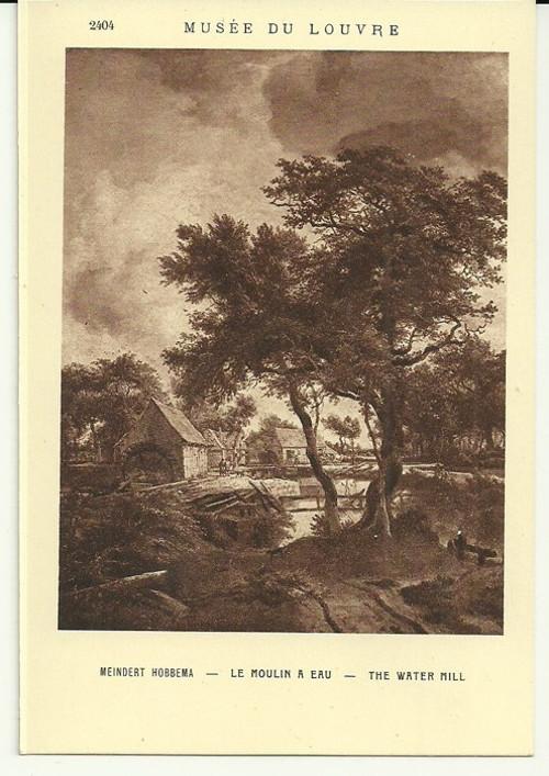 Umělecká pohlednice Meindert Hobbema