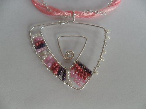 Růžové snění náhrdelník