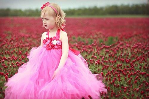 Tutu šaty Šípková růženka