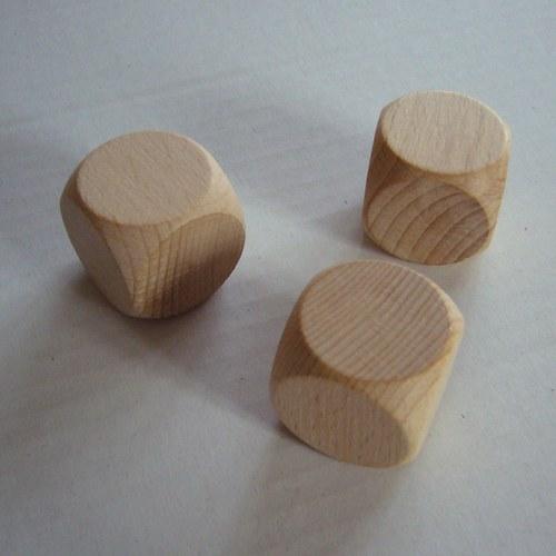 dřevěné kostky - velké 30x30x30