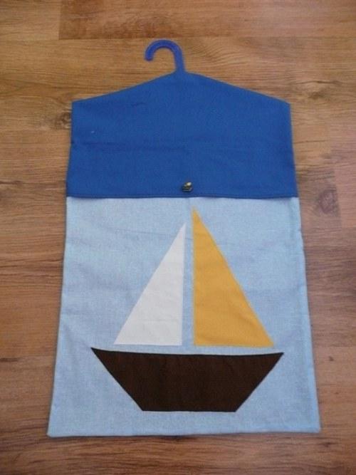 Kapsář do školky - námořnický