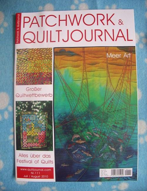 Časopis pro milovníky patchworku-sleva