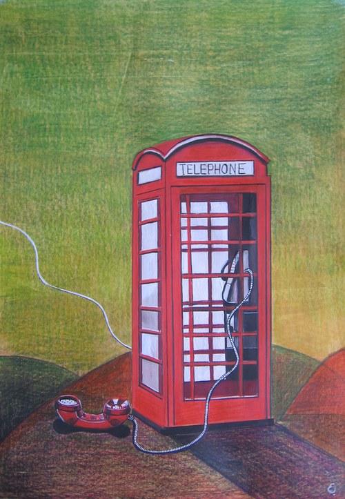 Volám do Londýna