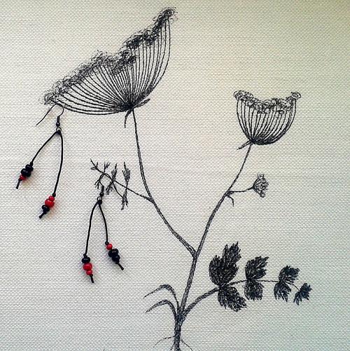 Život je krásný! Náušnice Zahradní 1