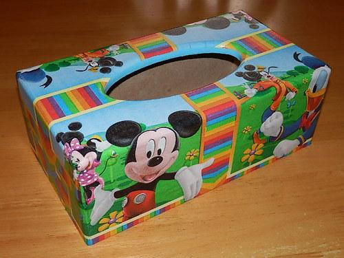 Krabička na kapesníky Mickey Mause