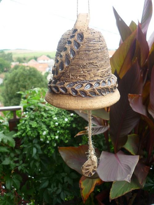 Keramický zvon - 14cm