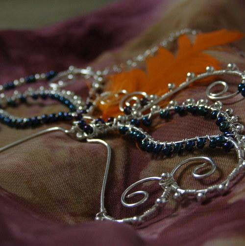 Motýlkový karneval - náhrdelník
