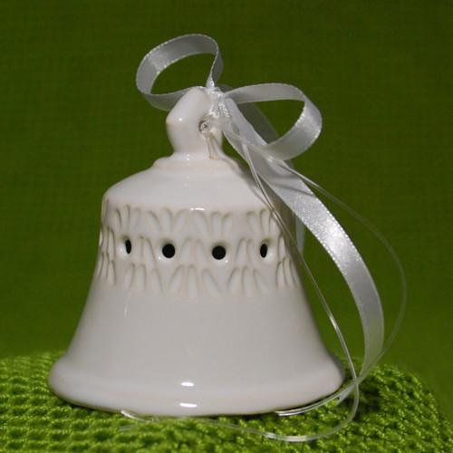 Zvonek bílý madeirový