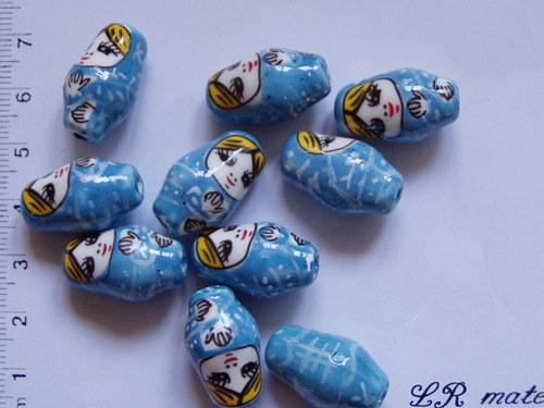 Matrjoška modrá
