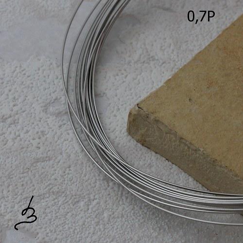 Osteo drát polotvrdý 0,7 mm - 5 m