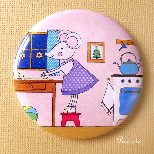 Maruška peče cukroví ... - magnet