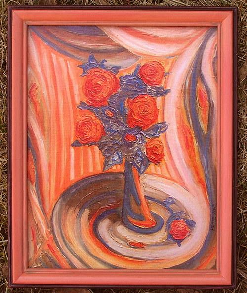 Obraz Růže (Zmenšenina)