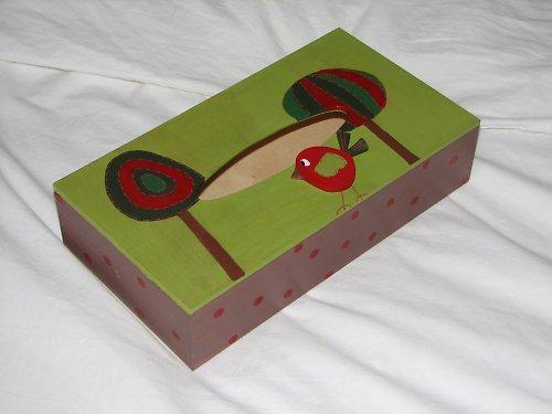 Krabička na kapesníčky VESELÁ ALEJ