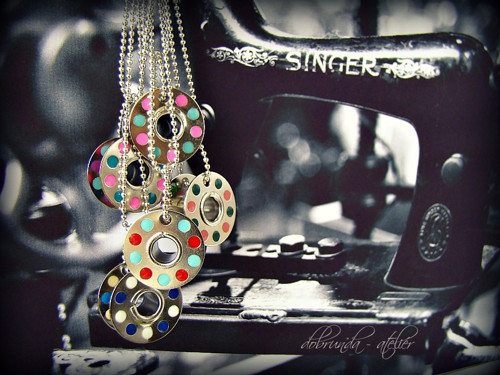 Singrovka II - cívkový náhrdelníček