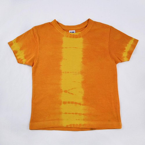 Žluto-oranžové dětské tričko (4 roky) - sleva