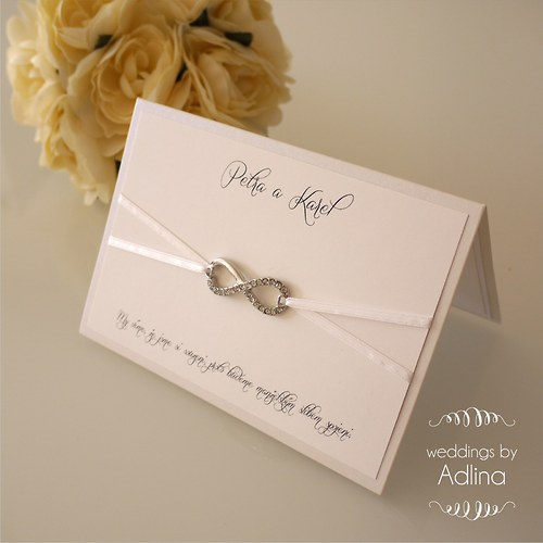 svatební oznámení_Infinity