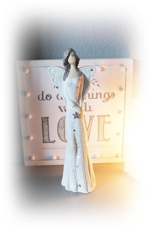 Hvězdný anděl - 36 cm