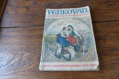 Venkovan, kalendář křesťanského venkova 1942