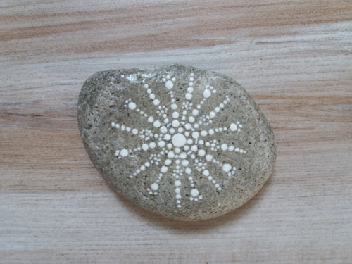 Malovaný kámen