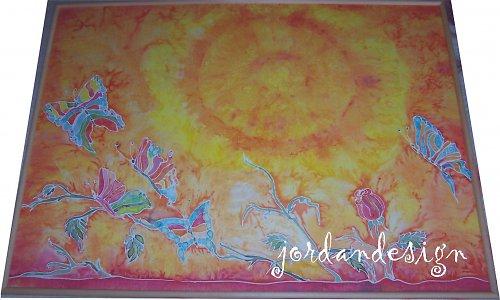 obraz Motýlí radost  - 100cmx70cm