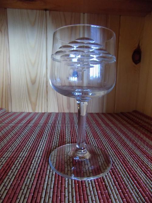 Stařičká sklenička po prababičce Sleva