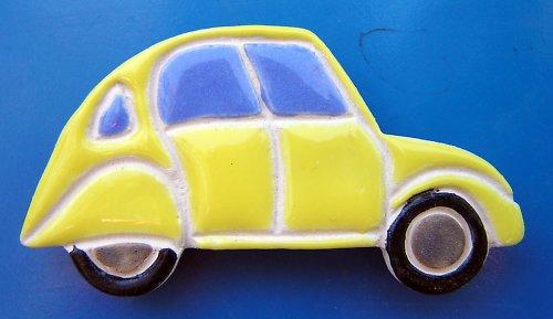 Auto KACHNA - Citroen žlutý