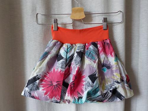 Detská balónová sukne - lúčne kvietky