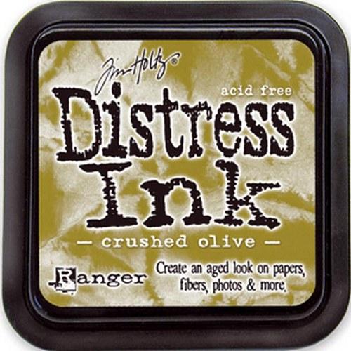 Inkoustový polštářek Distress / Crushed Olive