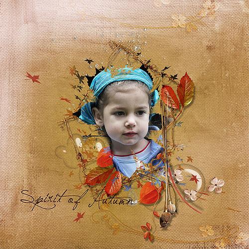 Koláž Barvy podzimu pro Vaše fotky
