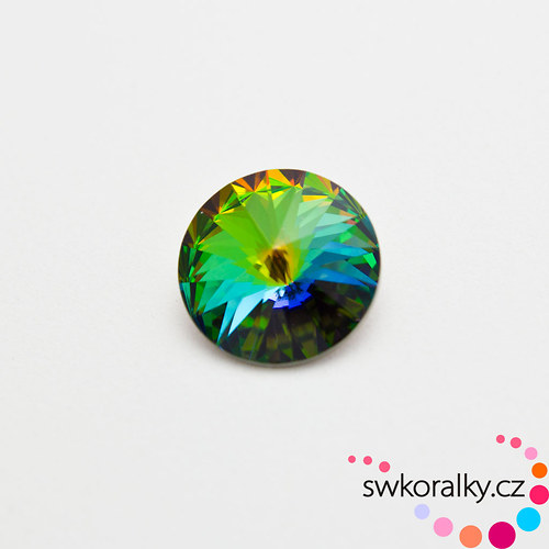 RIVOLI 18 mm SWAROVSKI ® ELEMENTS -vitrail medium