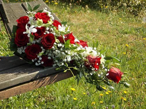 Převislá kytice - sada 5ks