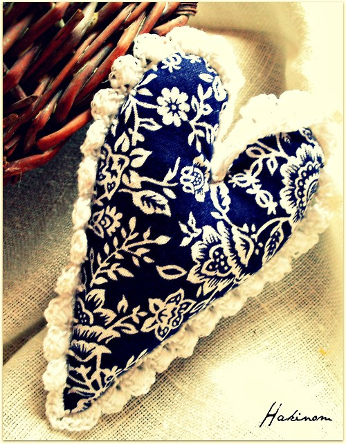 Srdce z lásky-modré