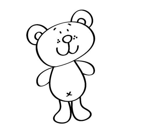 Razítko - Medvídek