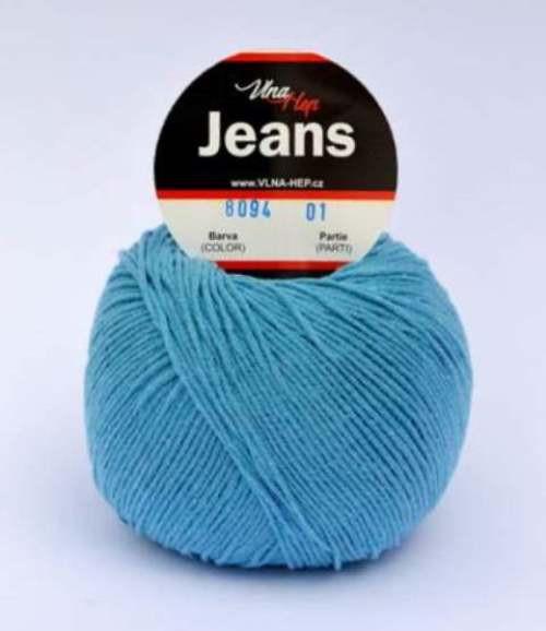 Jeans nebeská modrá 8094
