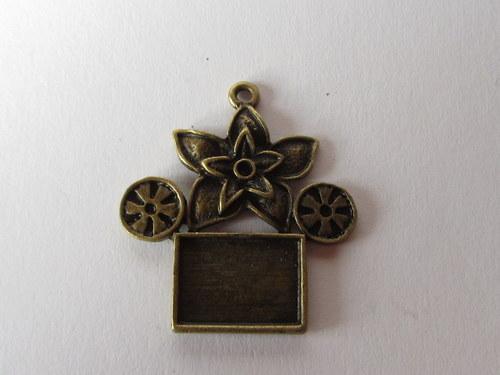 Lůžko - bronzový kov (Sleva)