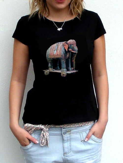 """Dámské tričko\""""Elefant\"""""""