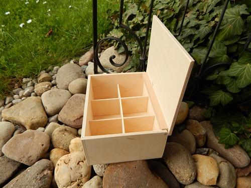 Nová krabička na čaj 6 komor