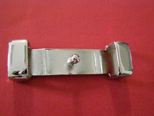 """opask. spona \""""průvlek\"""" stříbrná, 2 cm, 94,00 Kč"""