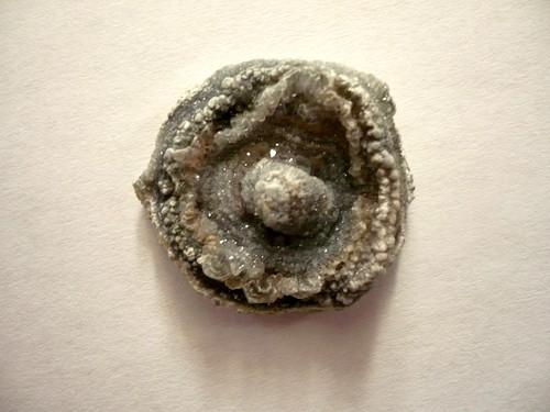 Hadí achát - chalcedonová růže 24 mm, č.7