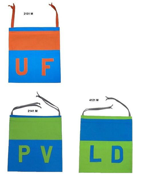 Školní kapsář pro prvňáčky s monogramem